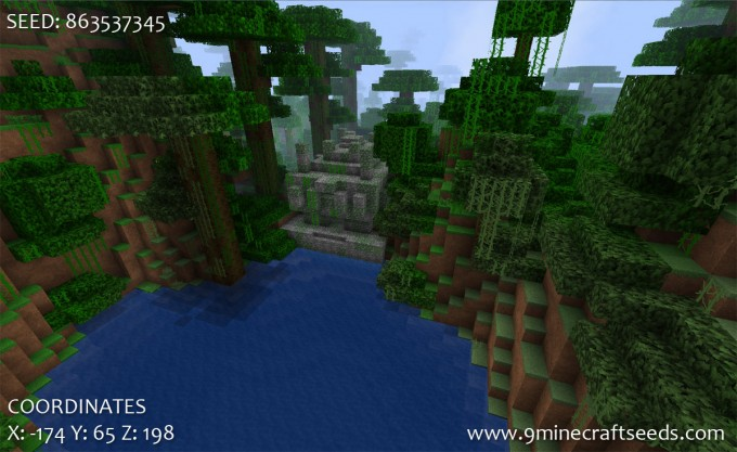 Jungle Temple Seed with horse armor